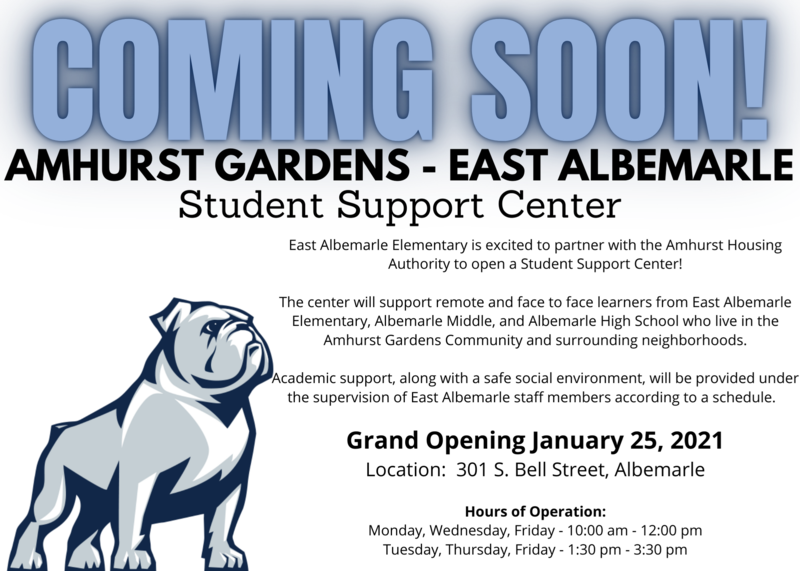 Amhurst Community Student Support Center Featured Photo