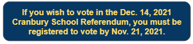 snapshot of voter registration deadline information on this page