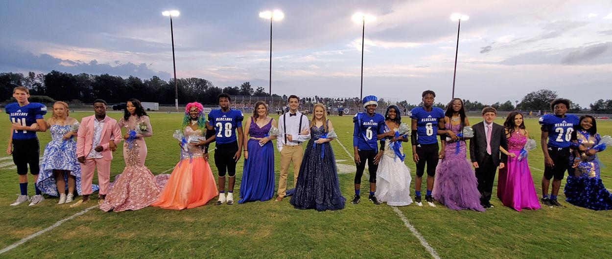 CHS Football Homecoming 2019 court