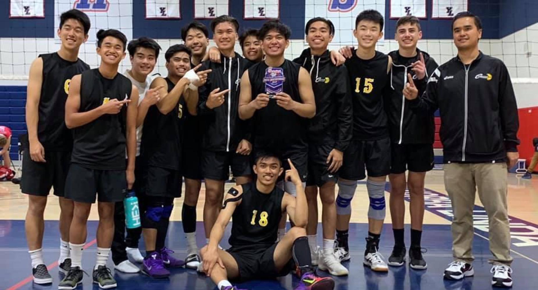 Boys Volleyball League Champs