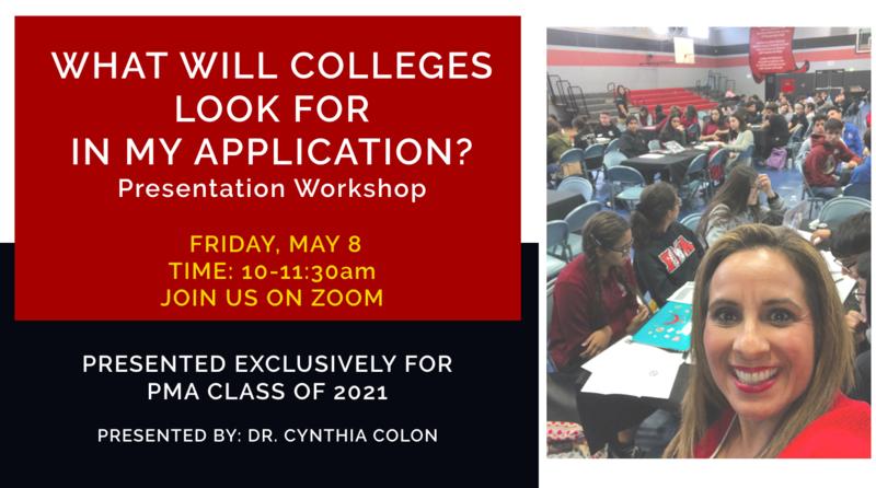 Class of 2021: College Preparation Parent & Student Workshops Thumbnail Image