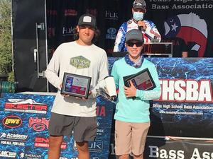 Evan Velez and Evan Koop SVHS Bass Fishing