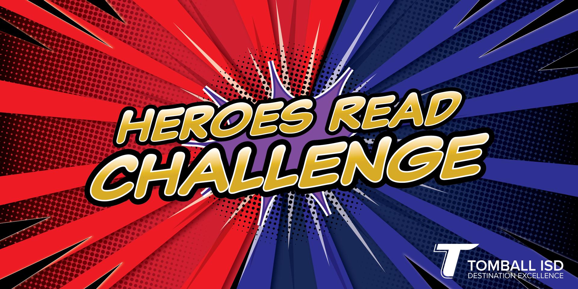Heroes Read Challenge Banner