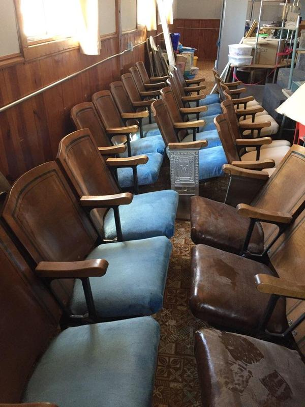 1920 Theatre Chairs for Sale Thumbnail Image