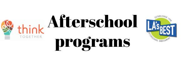 Afterschool Programs