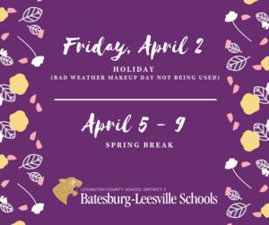 Important Schedule Reminders for Lexington Three Parents/Guardians