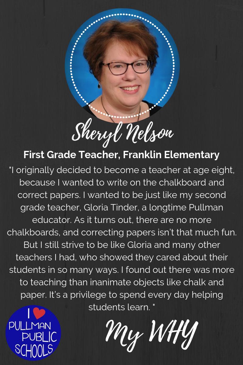 My WHY: Sheryl Nelson Thumbnail Image