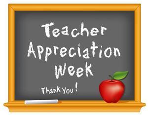 Image of Teacher Appreciation Week