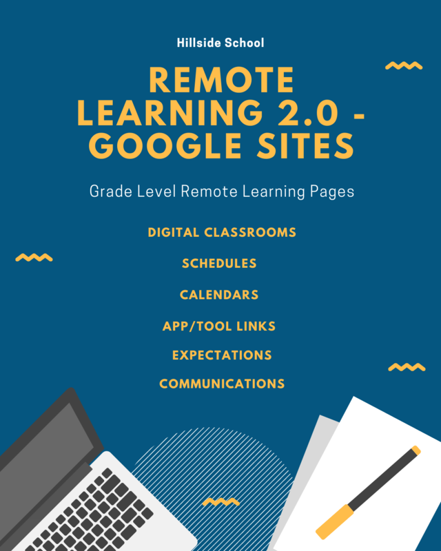 Remote learning 2.0 - Google Sites