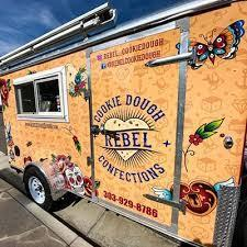 Royal cookie dough food truck