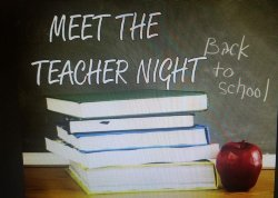 Meet the Teacher Night Image