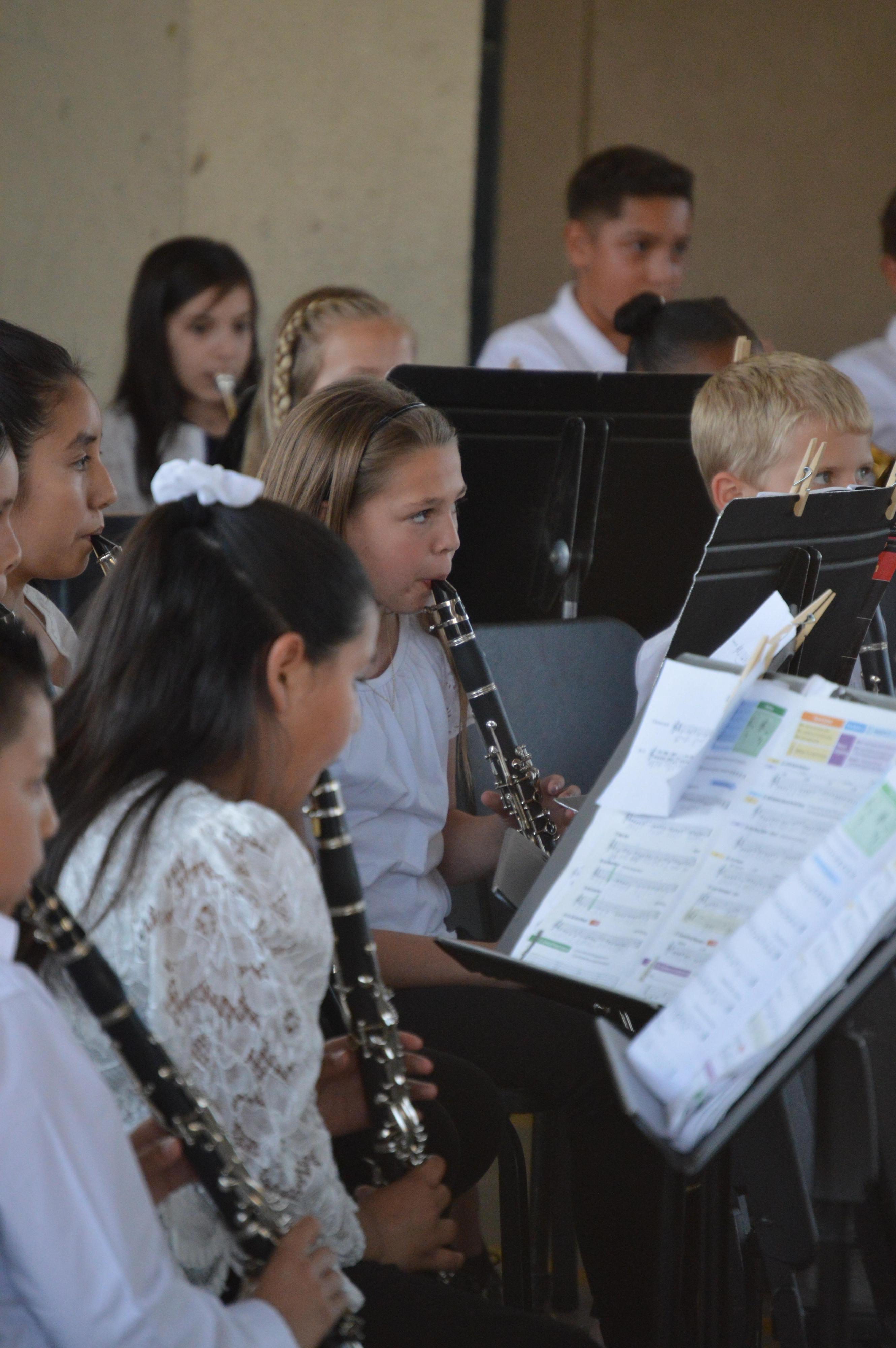 2018-19 Band Students Performing