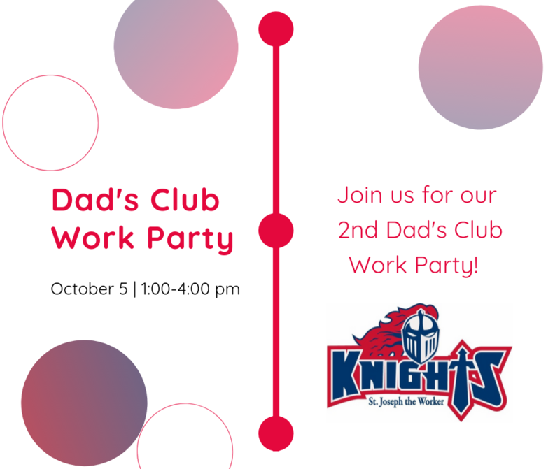 October Work Party - Sponsored by the Dad's Club Featured Photo