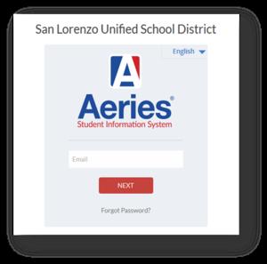 Aeries Online Registration