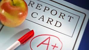picture of a report card