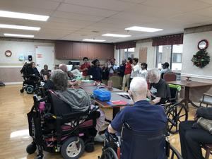 Elementary Students at Nursing Home