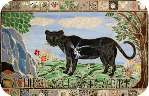 Mosaic of panther