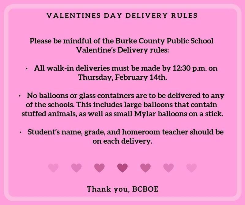 Valentine Day Reminders
