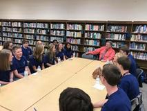 Dr Heath meeting with Student Counsel