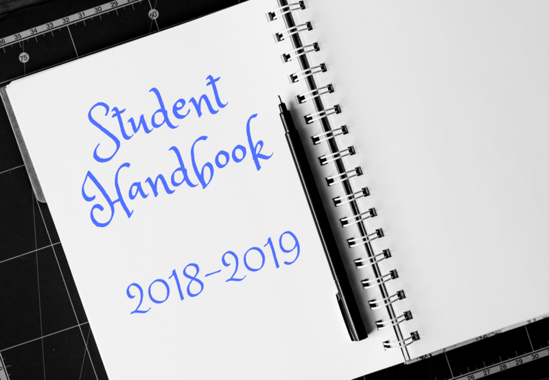 Click Here to View the 2018-2019 Student Handbook Thumbnail Image