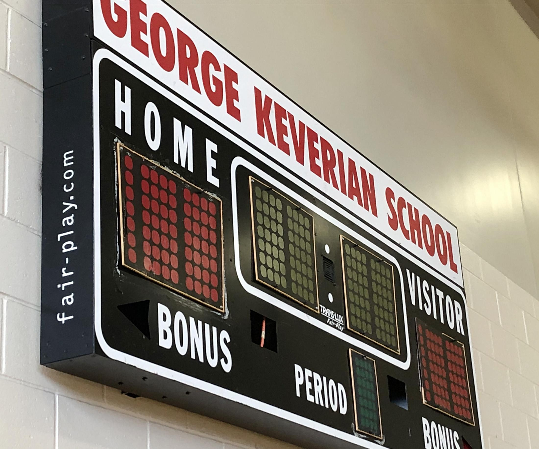 George Keverian School Scoreboard