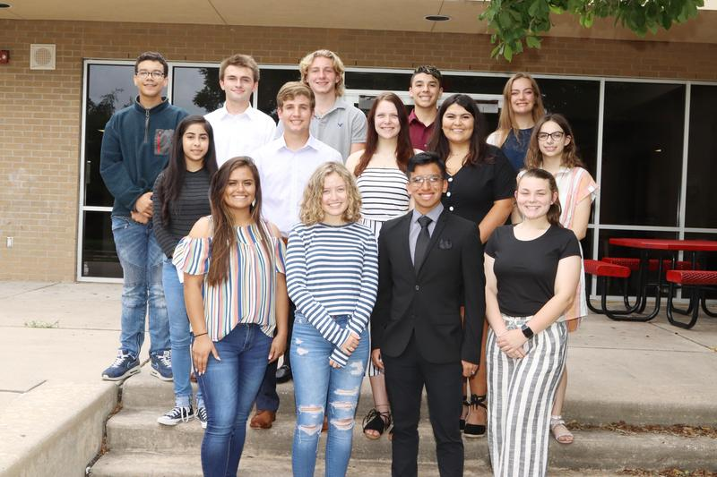 Tomball Scholarship Foundation recipients