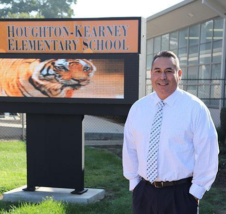 Houghton-Kearney Principal Lorenzo Rodriguez