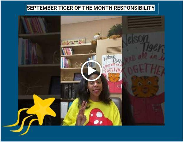 Tiger of the Month for September Featured Photo