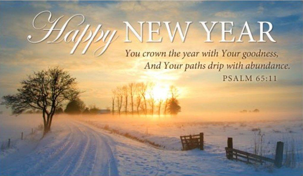 New Year Psalm 65:11