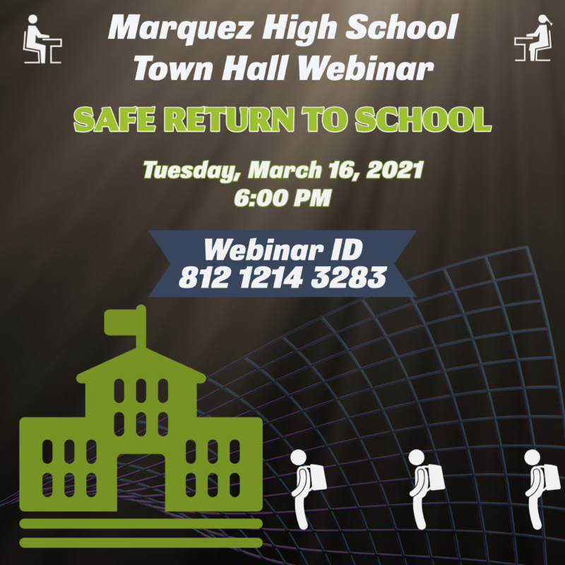 Marquez High School Town Hall Thumbnail Image