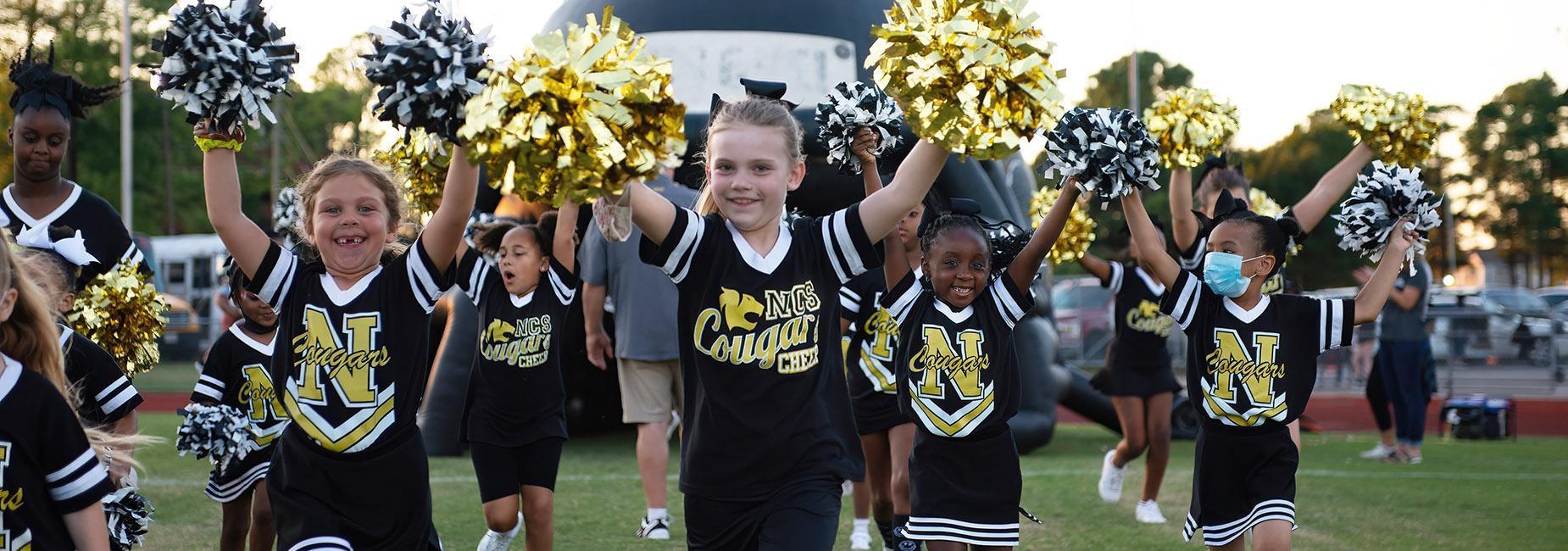 ES cheerleaders