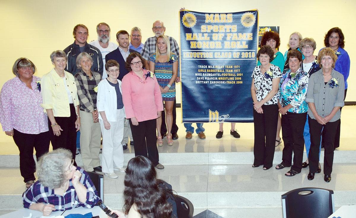 2016 Mars Area High School Sports Hall of Fame Inductees