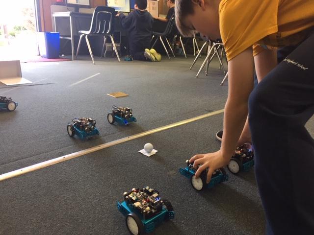 Robot Soccer Match