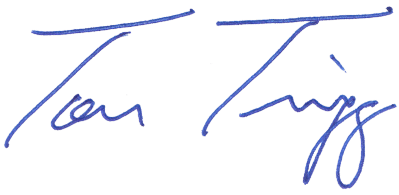 Tom Trigg signature