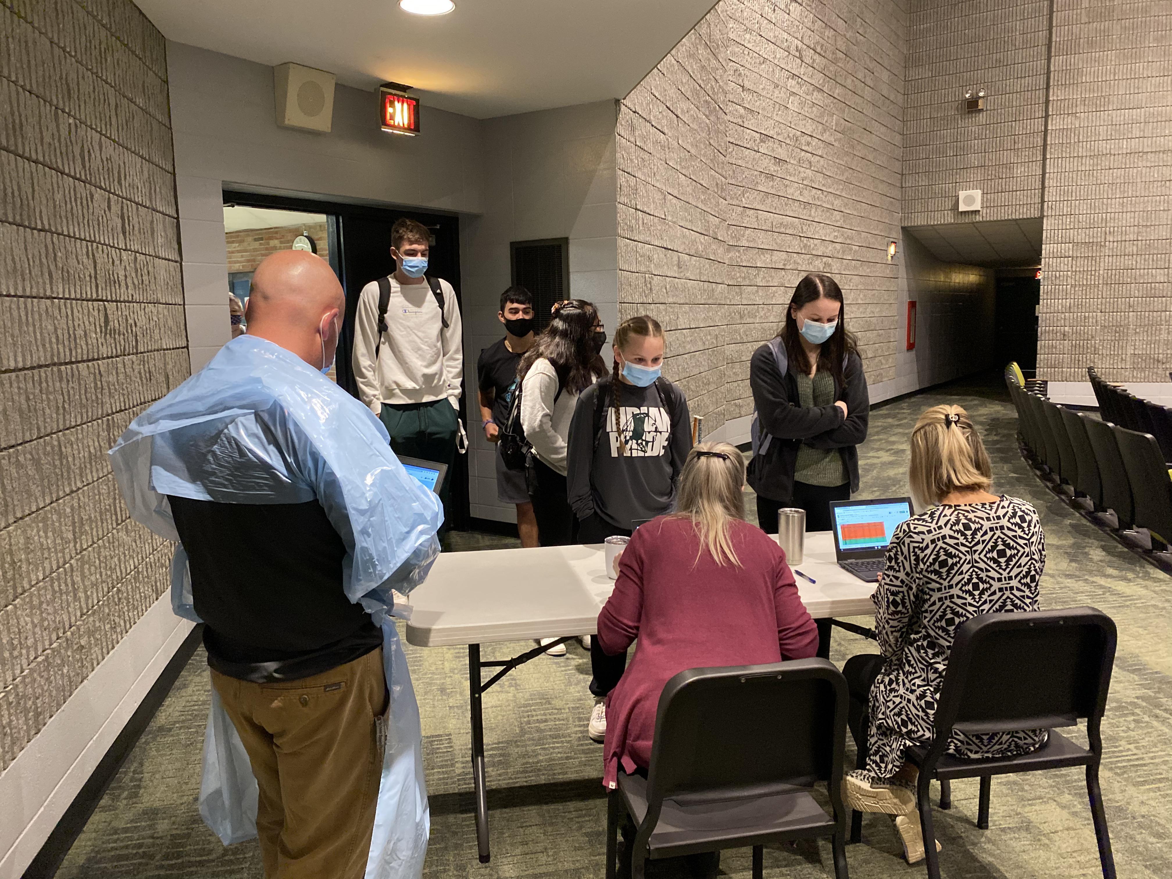 COVID-19 (Sports Testing) at Hartford Public Schools Image