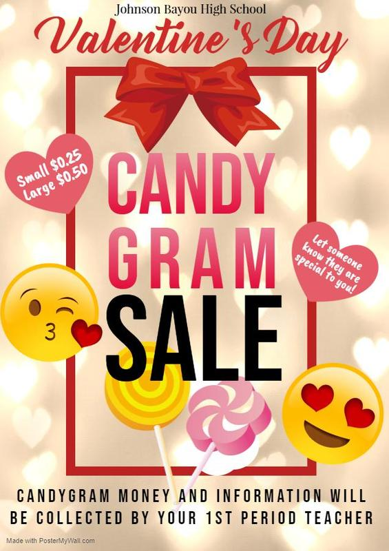 CANDY GRAM SALES FLYER