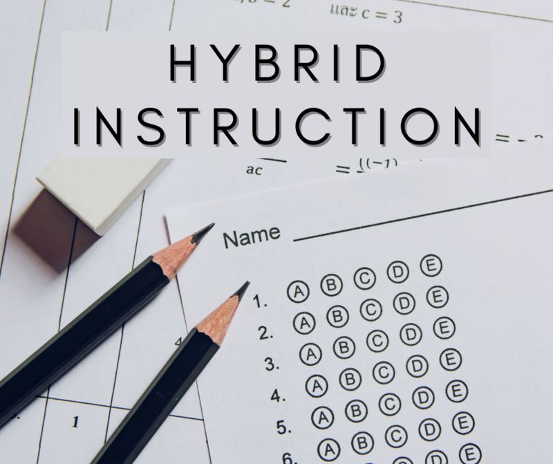 hybrid instruction