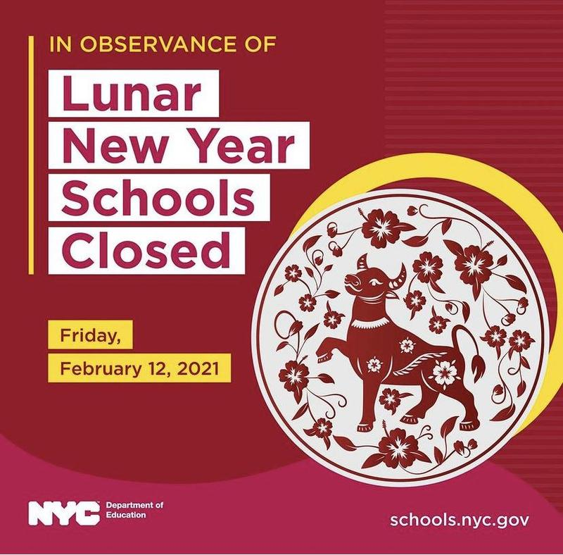 Lunar New Year-Schools Closed-Friday February 12, 2021 Featured Photo
