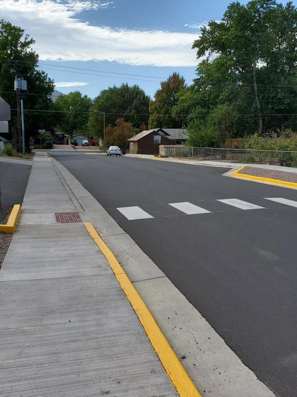 A smoother path to Lincoln School after Safe Routes to School Grant