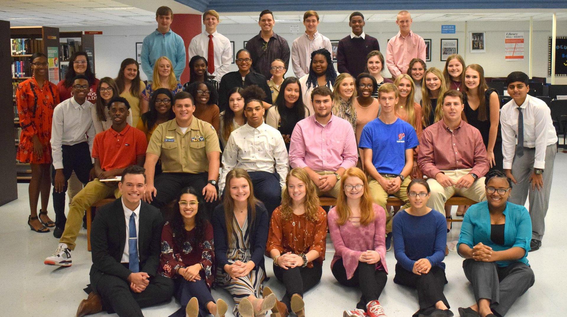 PHS National Honor Society New Inductees