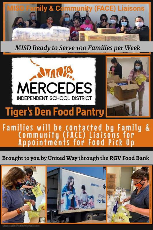 MISD is ready to serve 100 families per week via Tiger's Den Food Pantry! Featured Photo