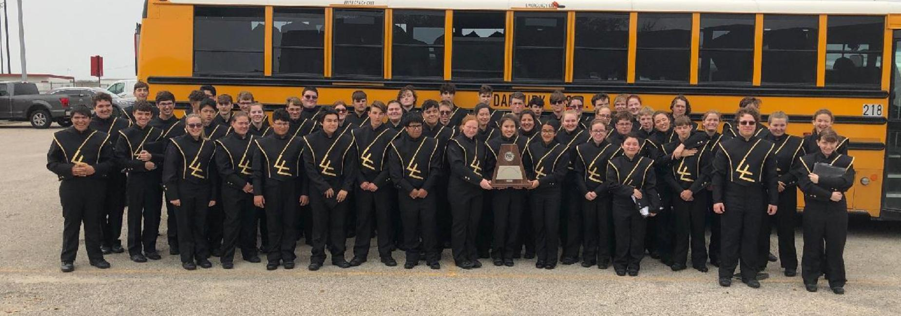 The Mighty Panther Band @ UIL Concert and Sight Reading Evaluations