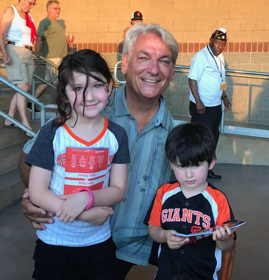 Avery and Joey meeting number 43, Dave Dravecky.