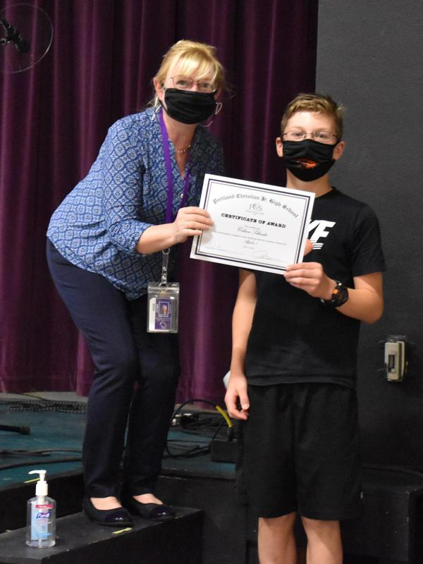 6th & 7th grade awards chapel