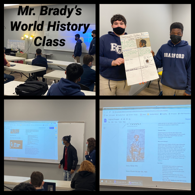 Brady Classroom Project