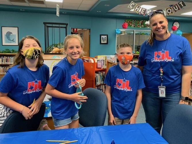 JRES 5th Grade Spelling Team