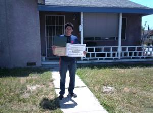 BPUSD_Scholars_Gabriel Rodriguez: North Park High Continuation High School senior Gabriel Rodriguez earned a $500 scholarship from the Baldwin Park Education Association (BPEA).