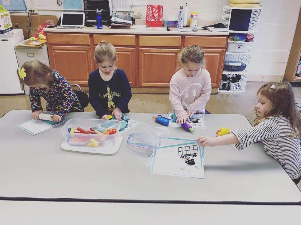 We love play dough!