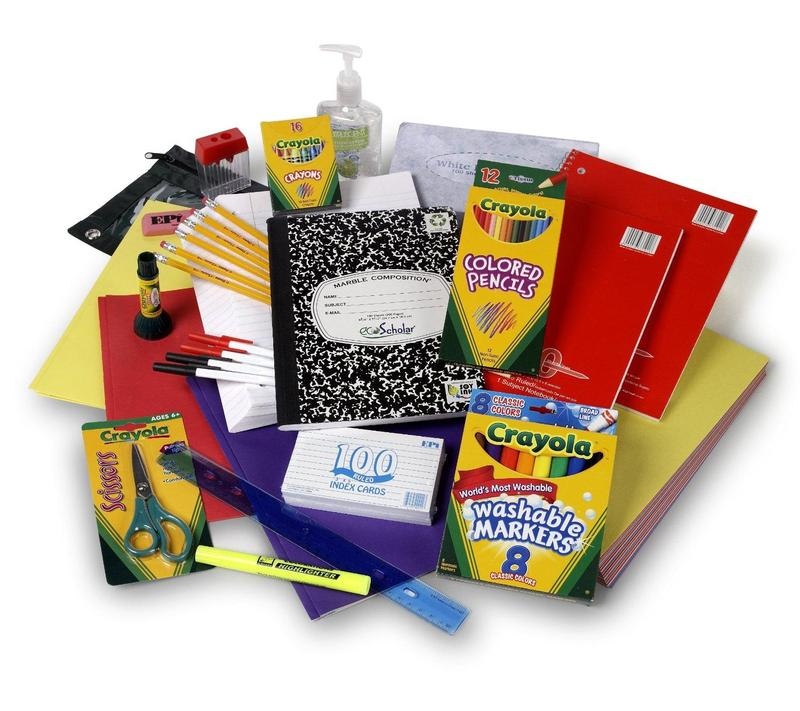 School Supply Lists 2018-19 Thumbnail Image