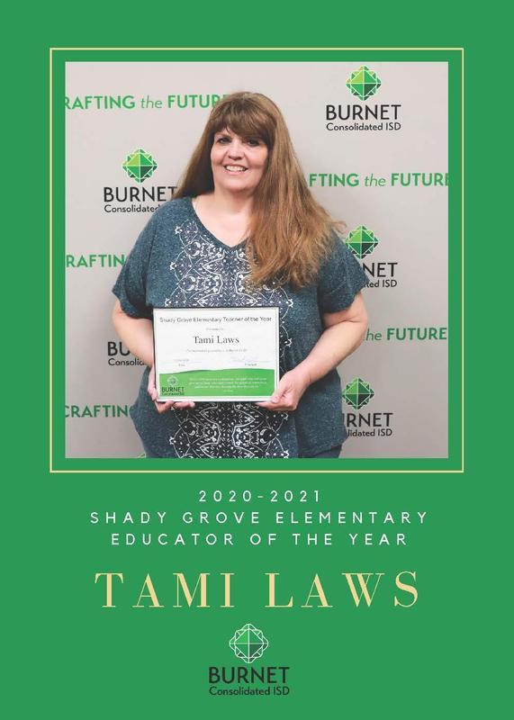 Shady Grove Teacher of the Year Thumbnail Image